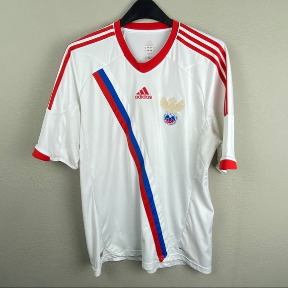 Adidas Russia National Soccer Jersey 2012/13 away